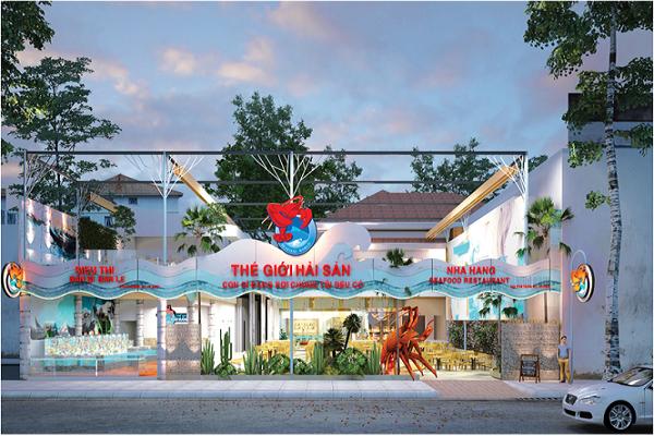 nhà hàng thế giới hải sản
