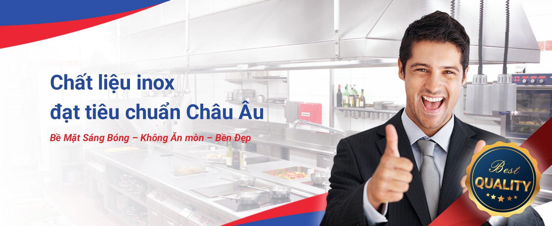 Inox Himalaya cung cấp thiết bị chất lượng inox công nghiệp khu bếp công nghiệp nhà hàng chát lượng uy tín