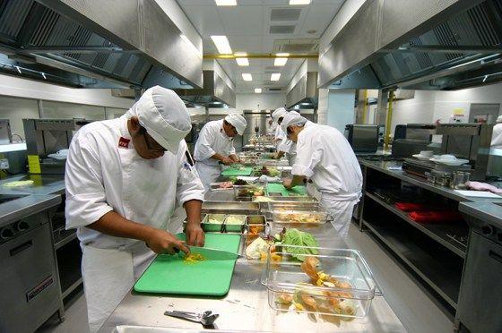 Nguyên tắc thiết kế bếp một chiều