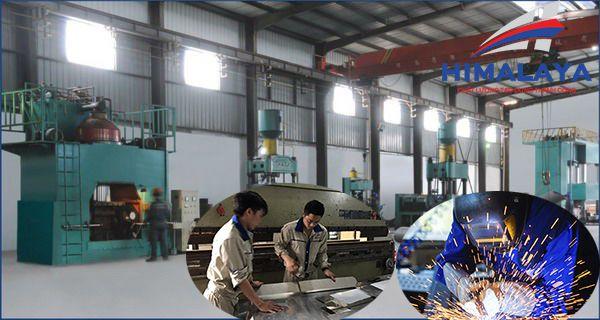 Xưởng sản xuất bếp inox công nghiệp