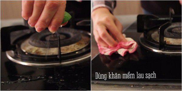 cách vệ sinh bếp Á ba họng