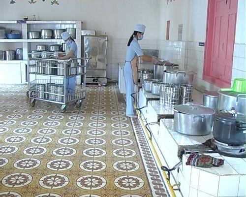 Dự án bếp ăn tập thể bệnh viện phụ sản Hà Nội