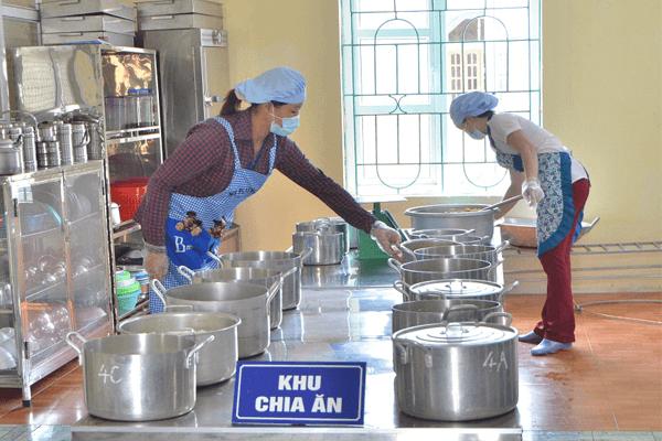 Dự án bếp công nghiệp trường mầm non Bill Gate