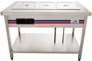 Tủ giữ nóng thức ăn bằng hơi nước dạng bàn