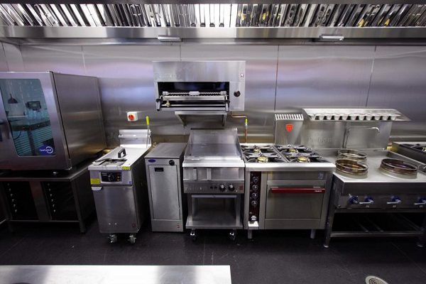 Thiết kế bếp nhà hàng trung tâm sự kiện Thành Nam