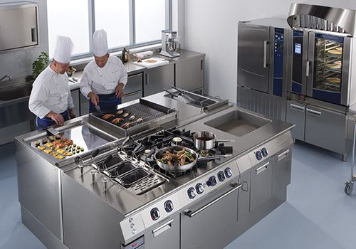 trang bị hệ thống bếp công nghiệp