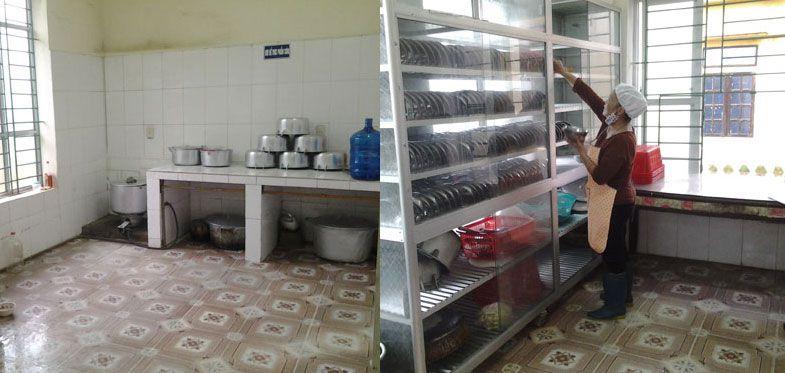 Phụ kiện inox nhà bếp