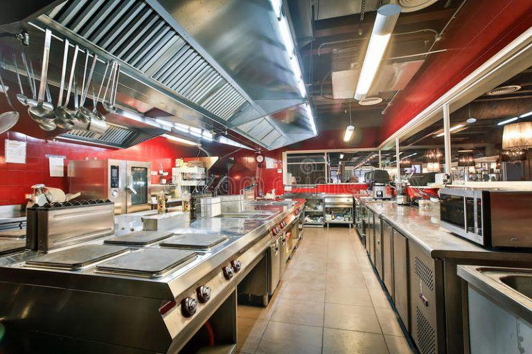 Ý tưởng cho gian bếp nhà hàng tiện lợi