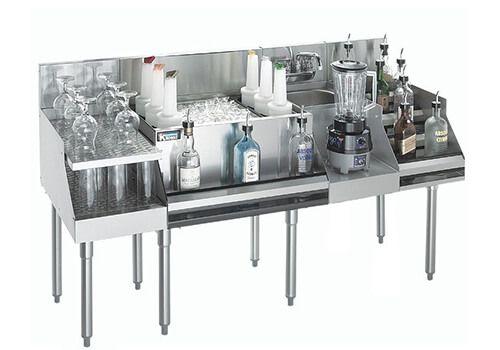 thiết bị inox quầy bar