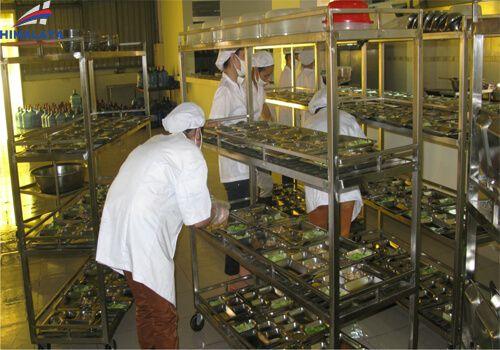 setup bếp nhà hàng thông qua nhân sự lao động