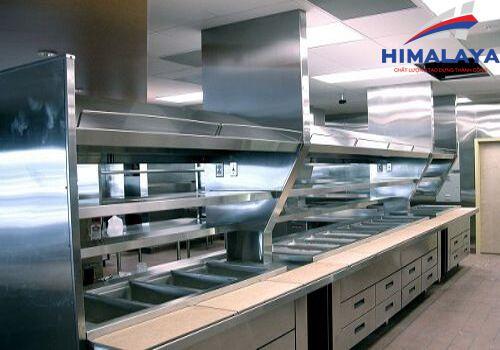 bàn bếp công nghiệp