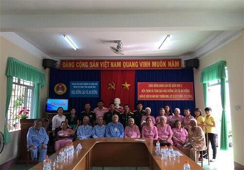 trung tâm điều dưỡng và chăm sóc người có công Khánh Hòa