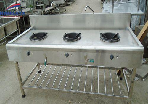 bàn bếp ga công nghiệp 3 họng