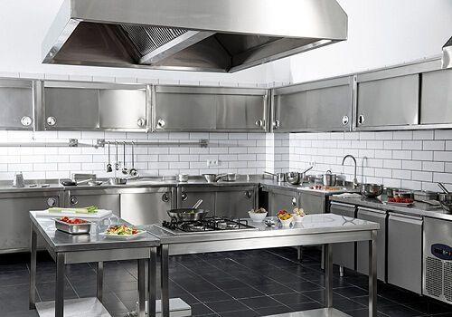 thiết kế bếp kiểu phân khu