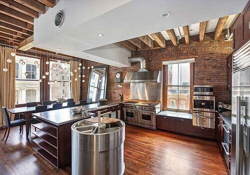 Thiết kế bếp nhà hàng theo phong cách mở