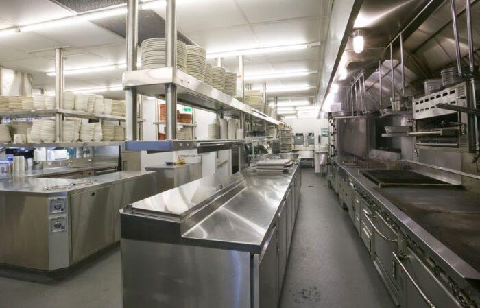 Bếp công nghiệp Á