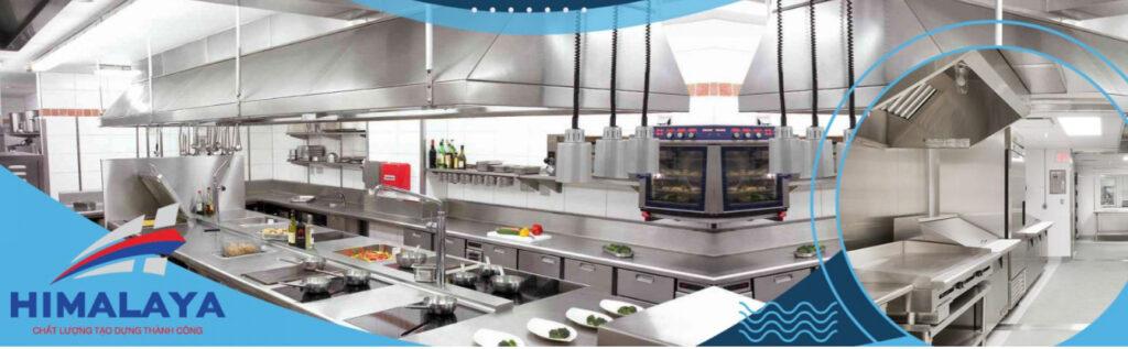 Nhà phân phối bếp inox công nghiệp