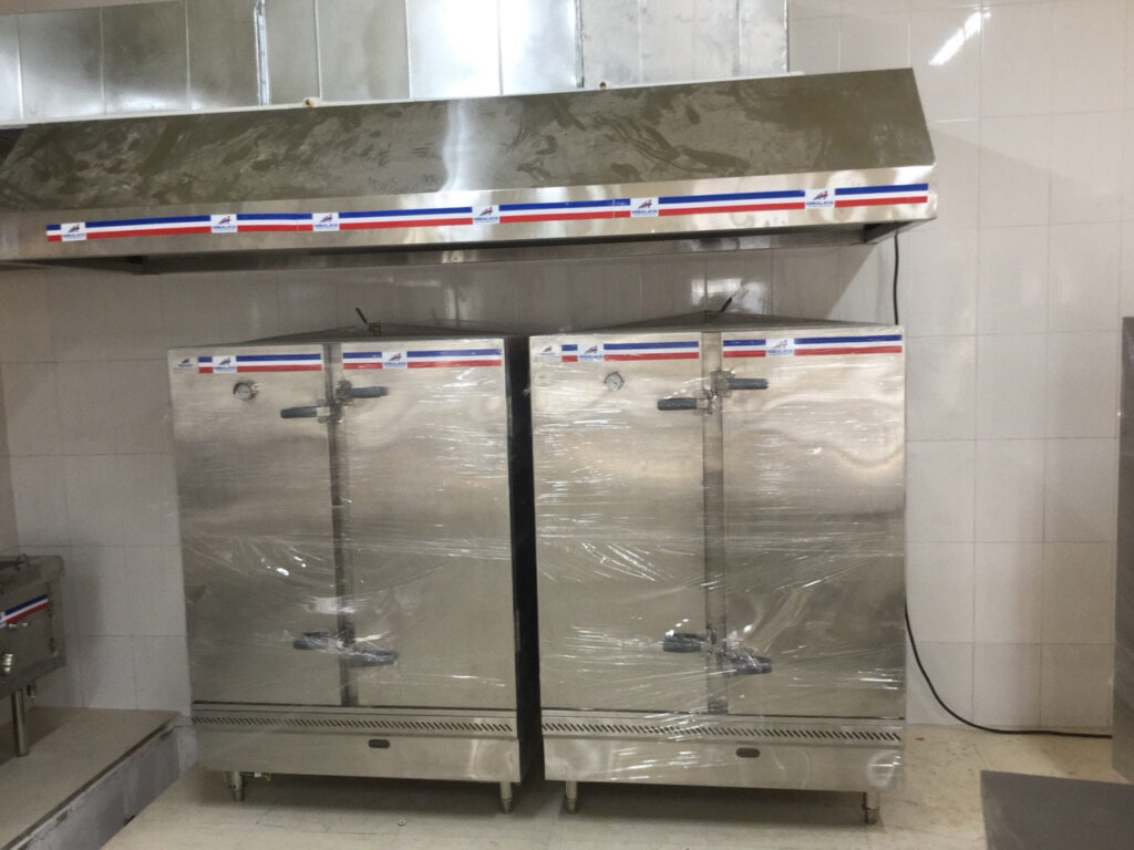 Tủ nấu cơm công nghiệp Tại Hà Nội Giá Rẻ