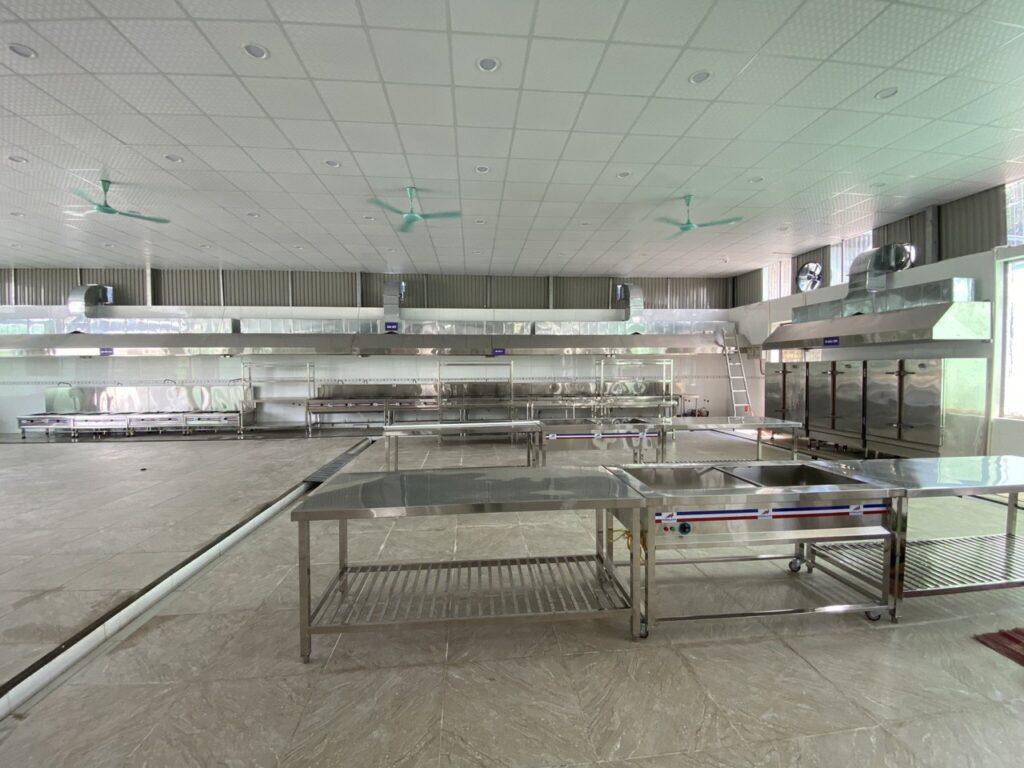 Mô hình bếp ăn tập thể suất ăn công nghiệp