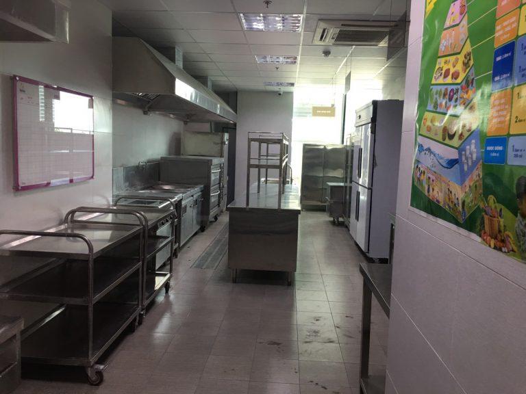 Tiêu chuẩn bếp ăn trường học