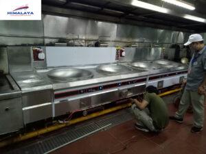 Bếp gas công nghiệp quạt thổi tại Himalaya