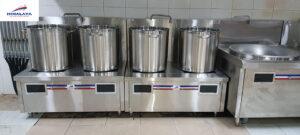 Bếp từ hầm công nghiệp tiết kiệm điện