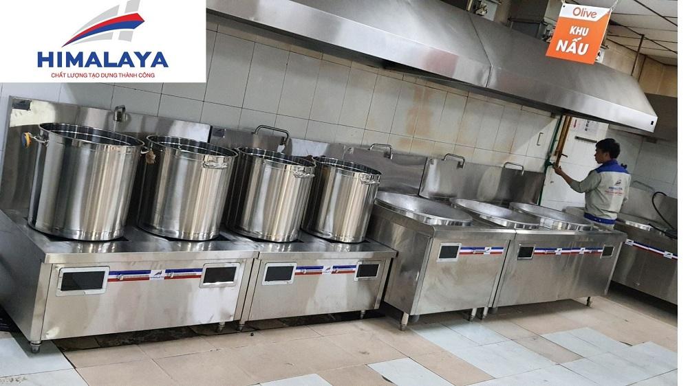 Bếp từ hầm công nghiệp cho nhà máy