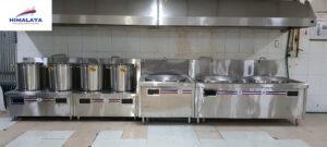 Bếp từ hầm công nghiệp mặt phẳng