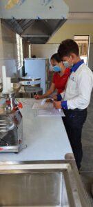 Bàn giao và nghiệm thu các thiết bị bếp trường mầm non